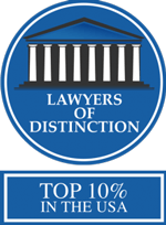 Lawyers of Distinction | Top 10% in the USA
